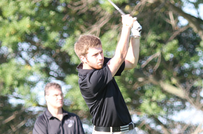 Cameron Cox carded a 73 for IU East.