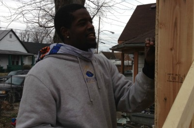 Brescia Men's Basketball Helps With Habitat for Humanity