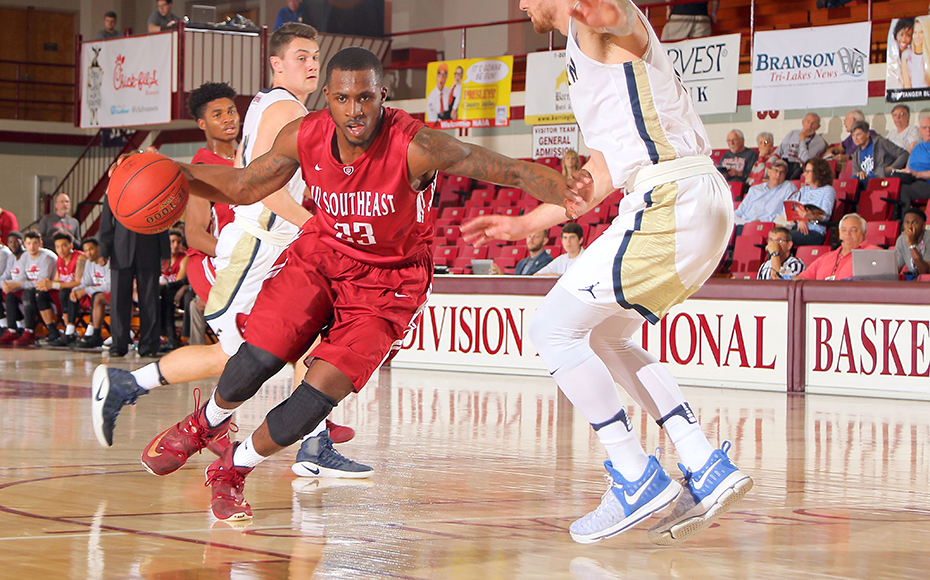 IU Southeast's Robert Sawyer. Photo by NAIA.