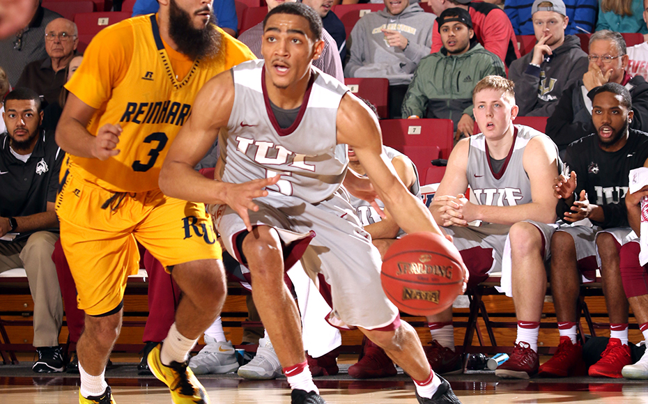 IU East's Jacoby Claypool had 16 points, 10 assists. Photo by NAIA.