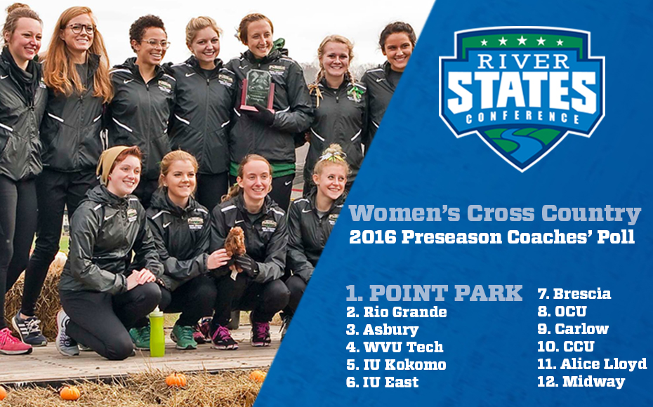 Photo for Point Park tabbed as River States Conference Women's Cross Country 2016 favorite