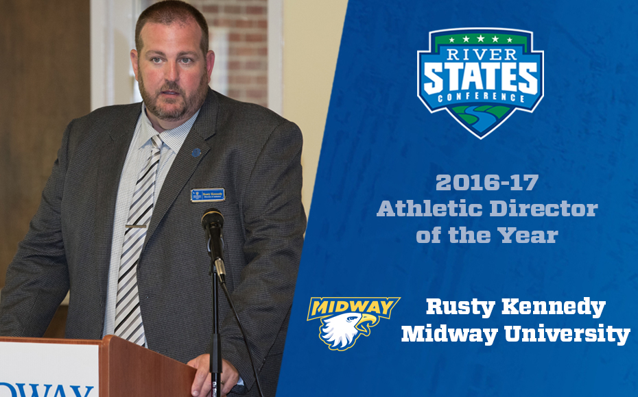 Photo for Midway's Rusty Kennedy named RSC Athletic Director of the Year 2016-17