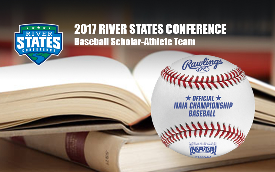 Photo for RSC Baseball Scholar-Athlete Team includes 35 players for 2016-17 season