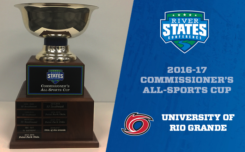 Photo for Rio Grande claims 2016-17 RSC Commissioner's All-Sports Cup