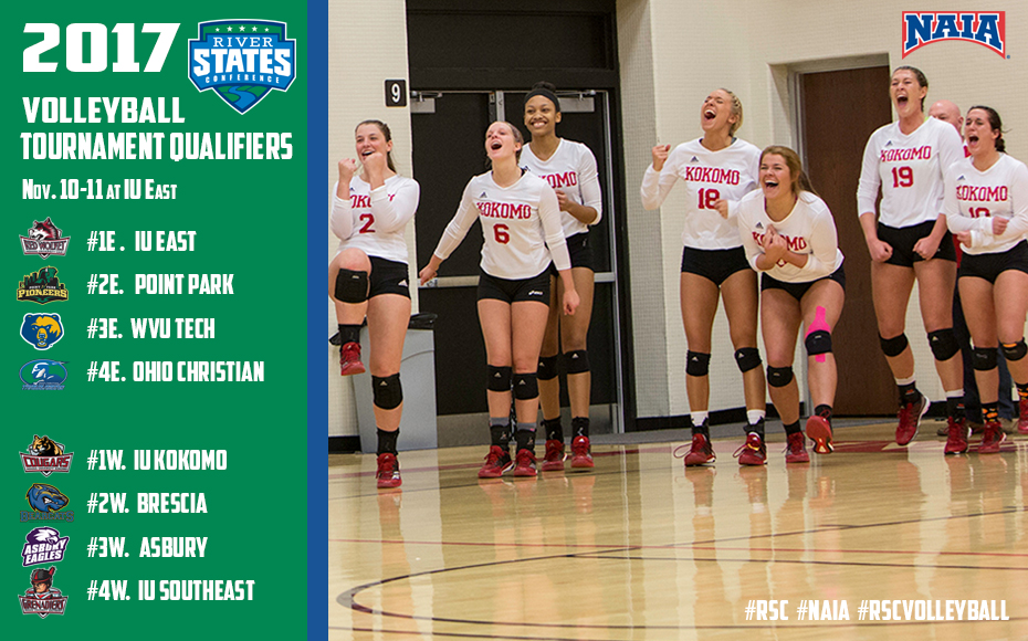 River States Conference Rsc Volleyball Tournament Central Bracket Schedule Links To Live Coverage