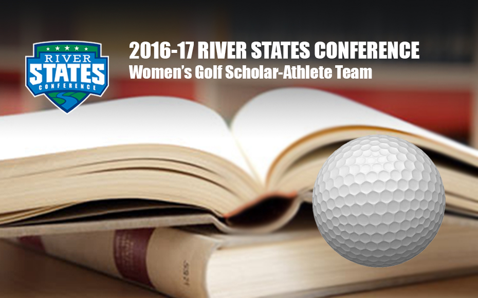 Photo for RSC Women's Golf Scholar-Athlete Team includes 16 honorees for 2016-17