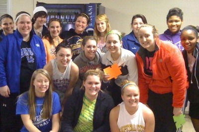 Midway Softball Participates in Community Events