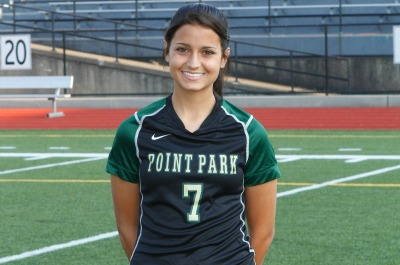 Women's Soccer Offensive Player of the Week - Leeza Tokarski